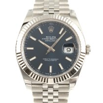 Rolex Datejust 126334 Ongedragen Goud/Staal 41mm Automatisch