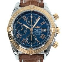 Breitling Chronomat Evolution Gold/Steel 44mm Blue