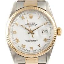 Rolex 16013 Золото/Cталь 1986 Datejust 36mm подержанные