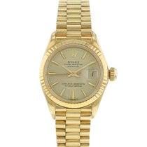 Rolex 6917 Or jaune 1978 Lady-Datejust 25mm occasion