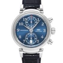 IWC Da Vinci Chronograph Acero 42mm Azul