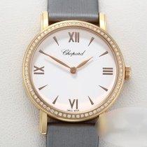 Chopard Classic Růžové zlato 28mm Bílá Římské