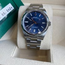 Rolex Oyster Perpetual Acero 36mm Azul