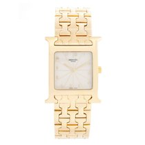 Hermès Heure H Yellow gold 35mm White Arabic numerals United States of America, Texas, Dallas