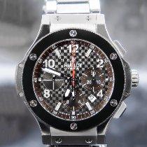 Hublot Big Bang 44 mm tweedehands 44mm Zwart Chronograaf Datum Keramiek