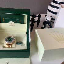 Rolex GMT-Master II Gult guld 40mm Grøn Ingen tal Danmark, Harlev j