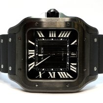 Cartier Santos (submodel) Steel 39.8mm Black Roman numerals United Kingdom, Essex