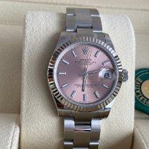 Rolex Lady-Datejust Stahl 31mm Pink Deutschland, Reutlingen, Stuttgart, Heidelberg, Frankfurt, Zweibrücken, München, Hannover