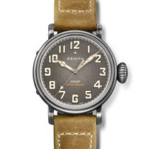 Zenith Steel Automatic Grey Arabic numerals 40mm new Pilot Type 20 Extra Special