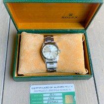 Rolex Oyster Precision Acier 34mm Or Sans chiffres Belgique, 2180