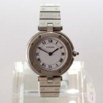 Cartier Santos (submodel) gebraucht 27mm Weiß Stahl