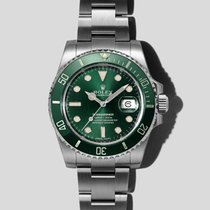 Rolex Submariner Date Steel 40mm Green United States of America, New York, New York