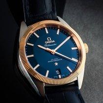 Omega 13023392103001 Gold/Steel 2020 Globemaster 39mm pre-owned
