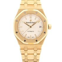 Audemars Piguet Royal Oak Selfwinding Yellow gold 37mm White United States of America, California, Beverly Hills