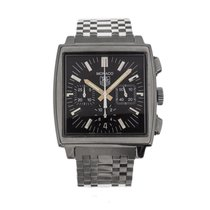 TAG Heuer Monaco pre-owned 38mm Chronograph