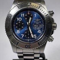 Breitling Superocean Chronograph Steelfish Steel Blue