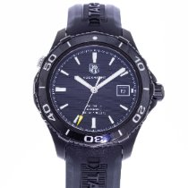 TAG Heuer Aquaracer 500M pre-owned 41mm Black Date Rubber
