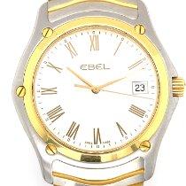 Ebel Classic Золото/Cталь 38mm Белый Без цифр