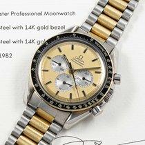 Omega DD145.022 Zlato/Ocel 1982 Speedmaster Professional Moonwatch použité