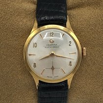 Certina Yellow gold 22mm Manual winding 243193 pre-owned