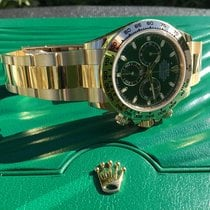 Rolex Daytona Yellow gold 40mm Green No numerals United States of America, California, Costa Mesa