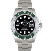 Rolex Submariner Date Stal 41mm Czarny