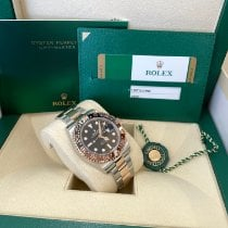 Rolex GMT-Master II Gold/Steel 40mm Black No numerals United States of America, New Jersey, Totowa