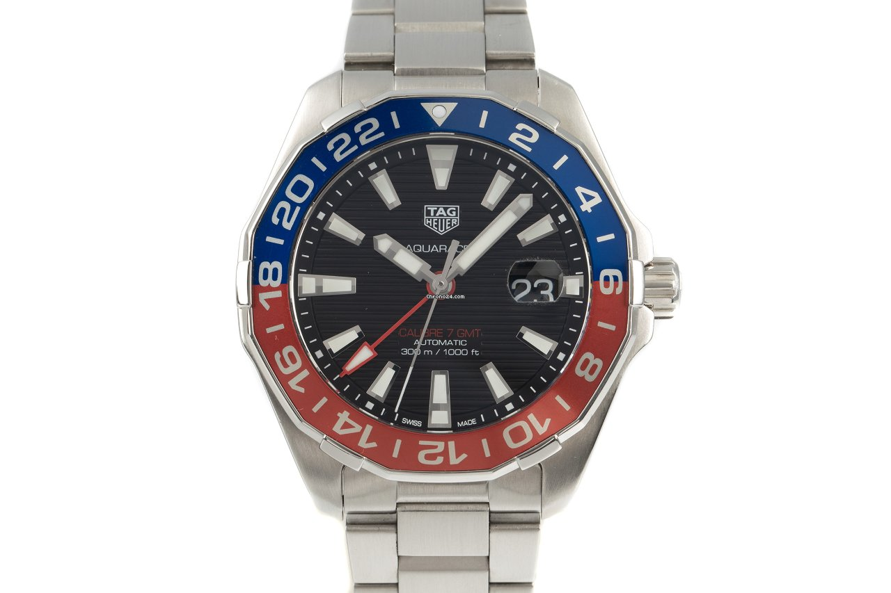 TAG Heuer Aquaracer 300M WAY201F 2019 pre-owned