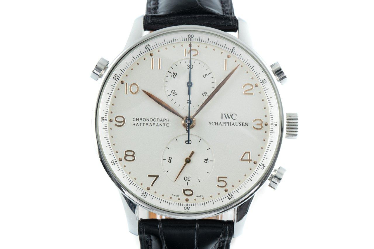 IWC Portuguese Chronograph 3712-002 2005 folosit