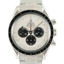 Omega Speedmaster Professional Moonwatch Acier 41.5mm Blanc