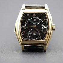 Patek Philippe Minute Repeater Perpetual Calendar Pозовое золото 46mm Черный
