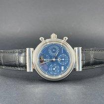 IWC Da Vinci Chronograph Платина 39mm Синий