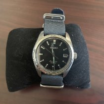 Seiko Steel Automatic Black No numerals 38mm pre-owned Spirit