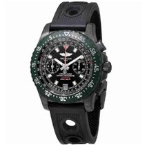 Breitling Skyracer Steel 45mm Black No numerals United States of America, New York, New York