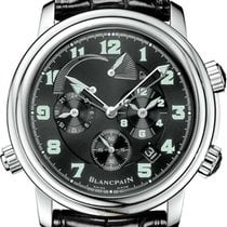 Blancpain Léman Réveil GMT Steel 40mm Black United States of America, Florida, Sunny Isles Beach