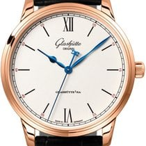 Glashütte Original Senator Excellence Rose gold 40mm Silver United States of America, Florida, Sunny Isles Beach