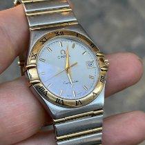 Omega 1212.10.00 Staal 1990 Constellation tweedehands