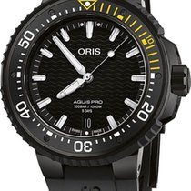 Oris Titanium Automatic Black 49.5mm new Aquis Date