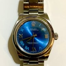 Rolex Bronze Automatic Black 31mm pre-owned Oyster Perpetual 31