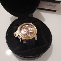 Graham Chronofighter R.A.C. Gold/Stahl
