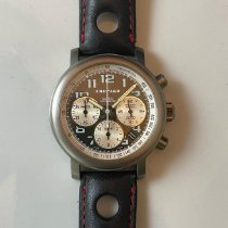 Chopard Mille Miglia pre-owned 40mm Grey Chronograph Date Leather