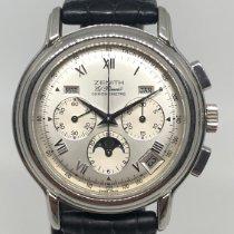 Zenith El Primero Chronomaster Çelik 40mm Gümüş Romen rakamları Türkiye, denizli