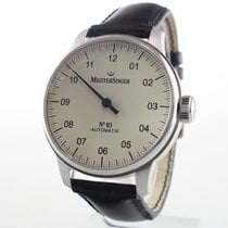 Meistersinger Steel 43mm Automatic 03102 pre-owned