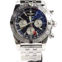 Breitling Chronomat 44 GMT Acier 44mm Noir