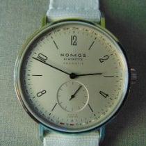 NOMOS Tangente Neomatik Steel 40.5mm White Arabic numerals United States of America, North Carolina, Kinston