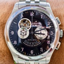 Zenith El Primero Chronograph Steel 44mm Black Arabic numerals United States of America, Texas, Plano