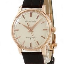 Seiko Rose gold Manual winding Champagne pre-owned Grand Seiko