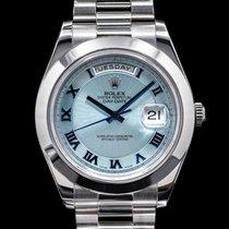 Rolex Day-Date II Platino 41mm Romanos
