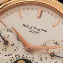 Patek Philippe Or rouge Remontage automatique Argent Sans chiffres 36mm occasion Perpetual Calendar