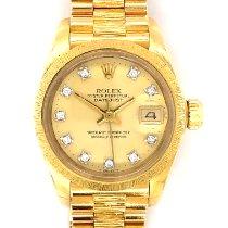 Rolex Lady-Datejust Gelbgold 26mm Gold Keine Ziffern Deutschland, Dortmund
